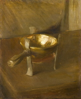 Artist Albert de Belleroche: Still life with crucible, circa 1890